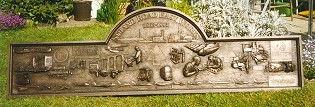 British Aerospace bronze plaque