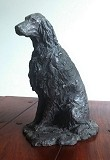 Bronze sculpture of Irish Setter 'Shannon'