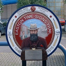 WG Grace plaque
